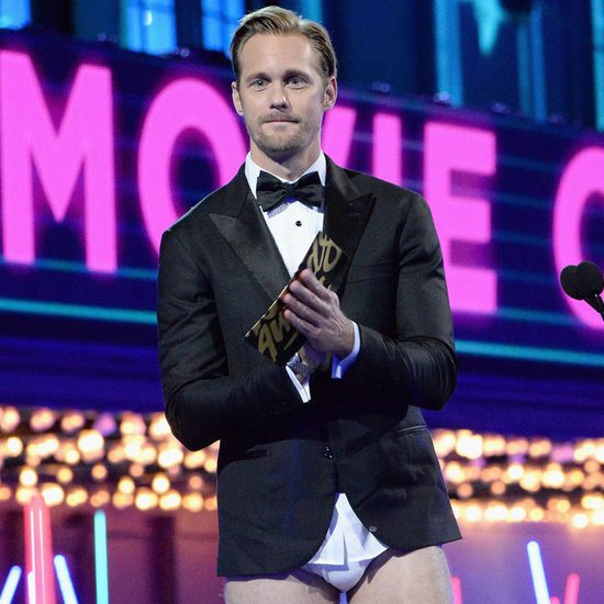 Alexander Skarsgard With No Pants at MTV Movie Awards 2016