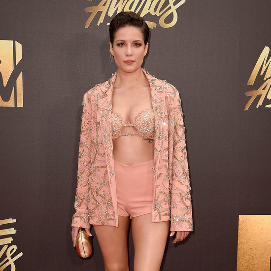 Halsey's Bra Top at MTV Movie Awards 2016