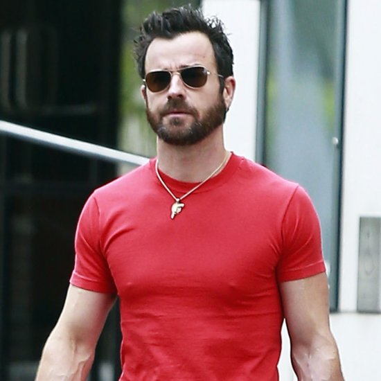 Justin Theroux Out in LA April 2016
