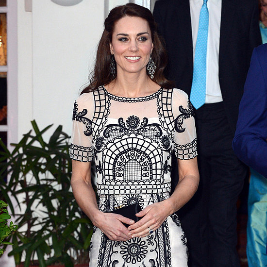 Kate Middleton's Temperley London Dress in India April 2016
