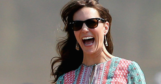 Of *Course* Duchess Kate Played Cricket In A Dress And Wedges