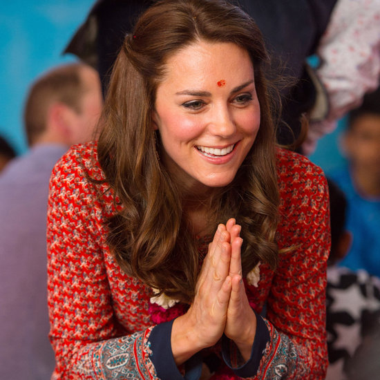 Kate Middleton in Glamorous Dress in Mumbai