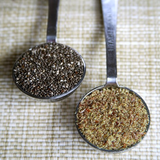 Chia Seeds vs. Flaxseeds