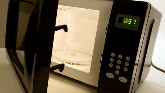 The Laziest Way to Clean Your Microwave