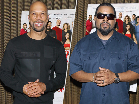 Their Rap Beef Long Settled, Ice Cube and Common Talk Finding New Respect for One Another While Filming Barbershop: The Next Cut