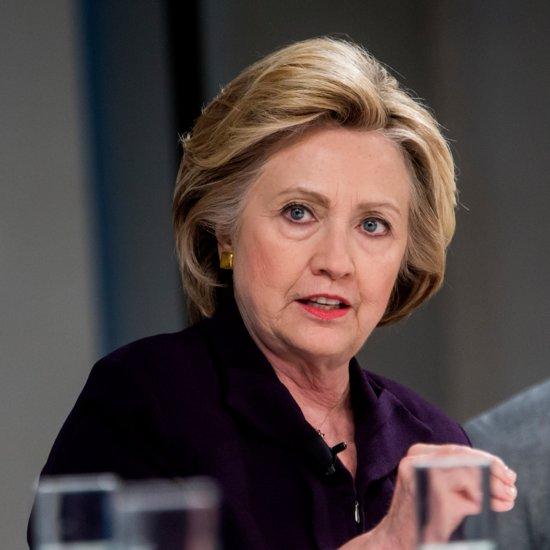 Hillary Clinton Talks Gender Pay Gap