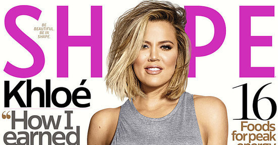 "Khloé Kardashian: ""I Love My Shape Because I've Earned Every Curve"""
