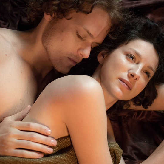 Sexy Claire and Jamie Outlander GIFs