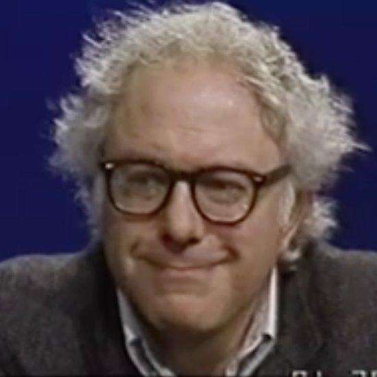 Old video of bernie sanders talking about presidency