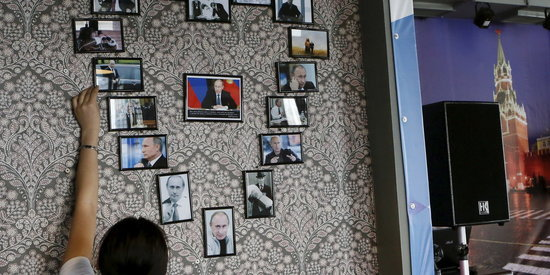 Inside The Siberian Cafe Dedicated To Vladimir Putin