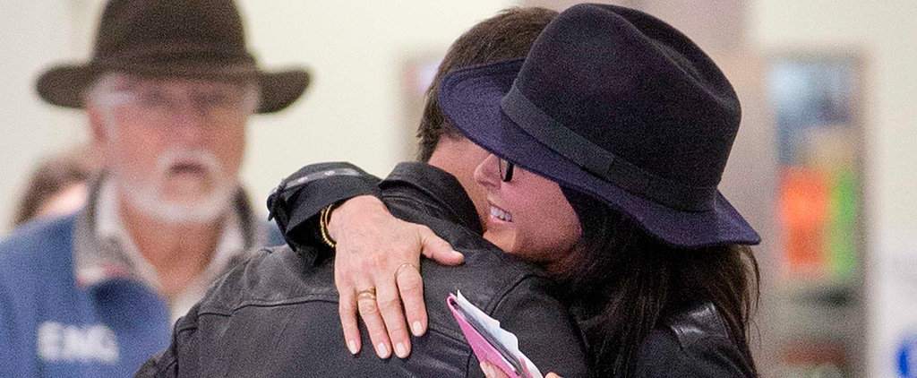 Courteney Cox and Johnny McDaid Share a Kiss Months After Breaking Up