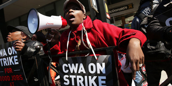 Verizon Strike Causes Delays For Customers Around U.S.