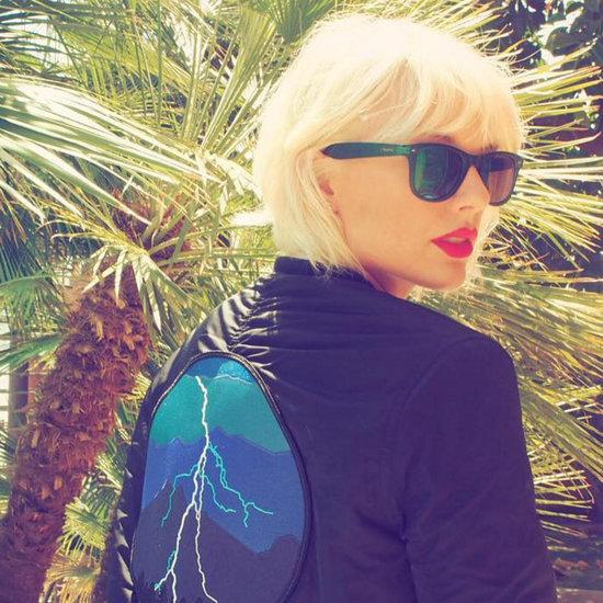Taylor Swift's Bleach Blonde Instagram About Coachella
