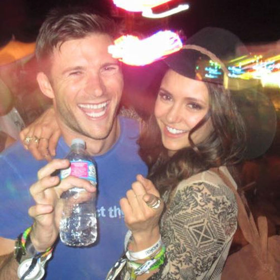 Scott Eastwood and Nina Dobrev at Coachella 2016