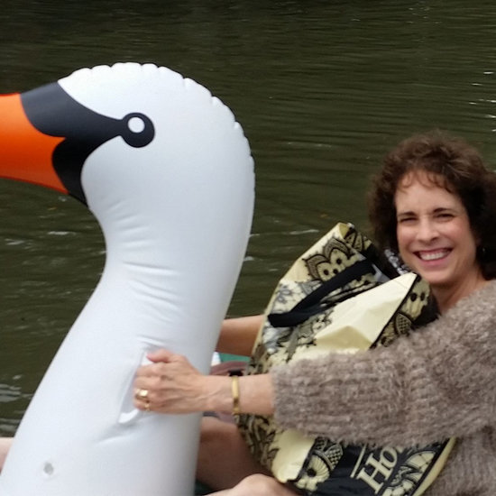 Midwife Rides Inflatable Swan to Deliver Baby