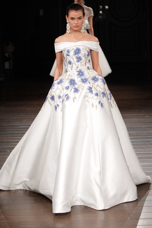Naeem khan bridal spring 2017 your guide to 2017 39 s for Naeem khan wedding dress