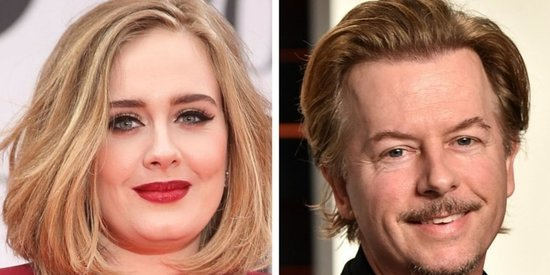 David Spade Recounts His 'Very Embarrassing' Meeting With Adele