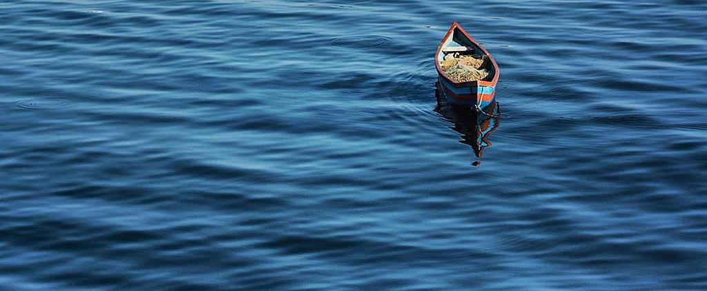 Instagram of the Day: Lone Boat in Mumbai