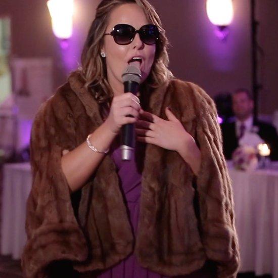 Adele Maid of Honor Wedding Toast