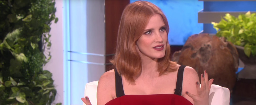 Now You Can Fantasize About Kissing Chris Hemsworth, Thanks to Jessica Chastain