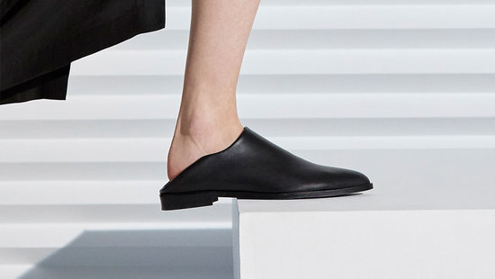 Everlane Just Debuted A New Leather Loafer And It's A Total #GameChanger
