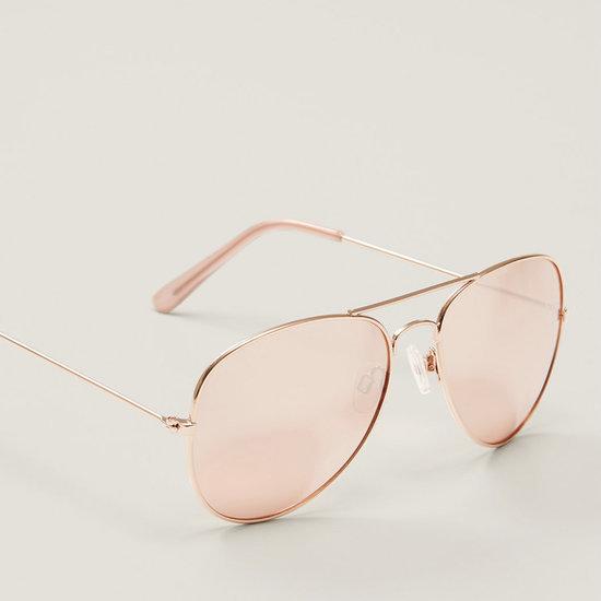 Shop Rose Gold Sunglasses