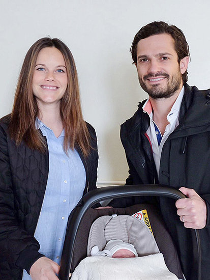 New Swedish Royal Baby's Name Is Revealed - Plus, See the First Photo!