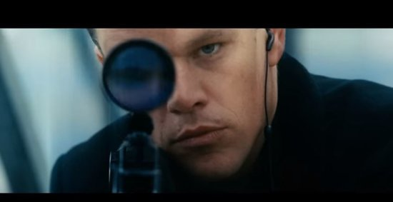 Matt Damon in first trailer for Jason Bourne