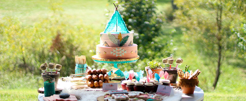 """This Tribal-Inspired """"Be Brave Little One"""" Baby Shower Is a Must-See"""