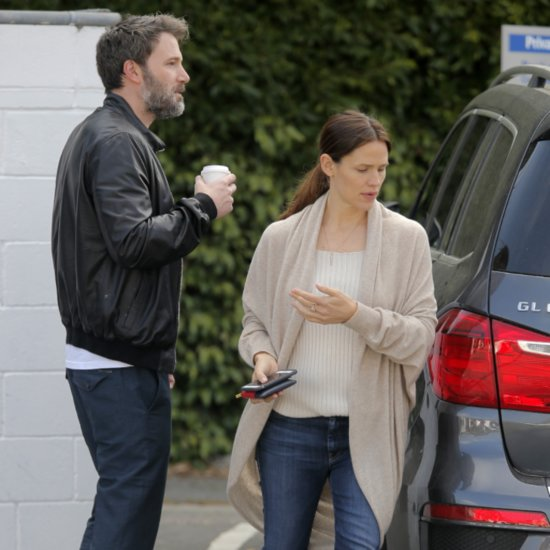 Ben Affleck and Jennifer Garner Out in LA April 2016