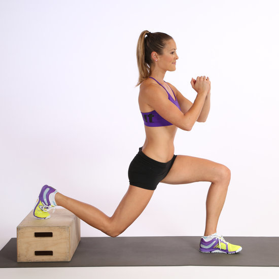 How Elevated Split Squats Work the Butt