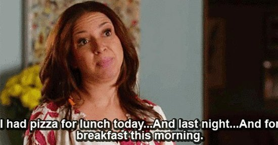 14 Very Real Thoughts You Have While *Trying* to Eat Healthy During the Week