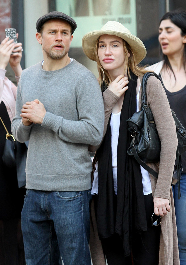 Remarkable, rather Charlie hunnam and his wife