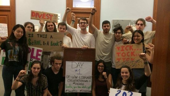 Students Across the Country Protest University Investments in Fossil Fuels