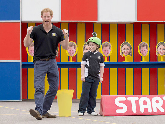 Bold 9-Year-Old Student Asks Prince Harry: 'Are You Ever Going to Be King?'