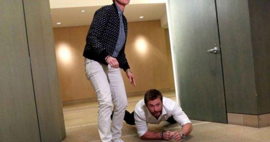 Chris Hemsworth Surprises Super-Fan Secretary in Hilarious Ellen Video: Watch