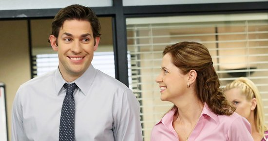 The Office's John Krasinski and Jenna Fischer Reunite and It's Magical: See the Photo!