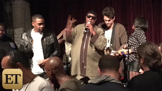 EXCLUSIVE: Dave Chappelle, John Mayer and Stevie Wonder Pay Tribute to Prince With Star-Studded Jam Session
