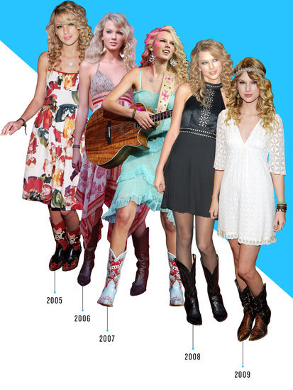 Taylor Swift's Shoe Evolution: A Deep Dive Into the Singer's Diverse Footwear Style