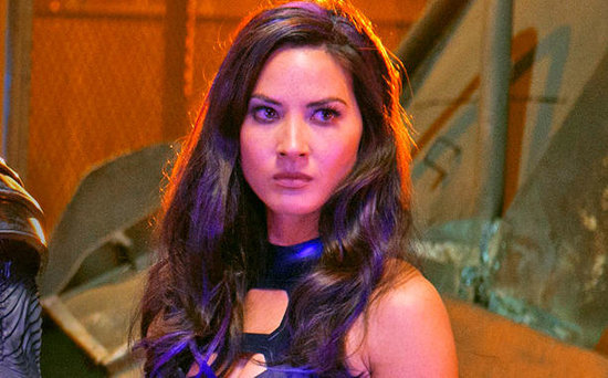 FROM EW: X-Men: Apocalypse Was (Literally) Painful for Olivia Munn