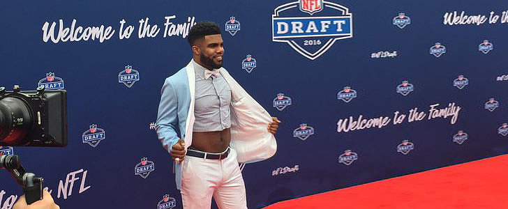 This NFL Player Is Pioneering the Men's Crop-Top Trend