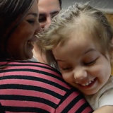 Witness the Moment a Deaf and Blind Toddler Hears and Sees Her Mom For the Very First Time