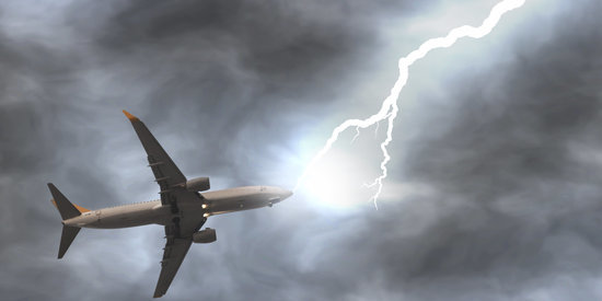 Watch What Happens When A Plane Gets Struck By Lightning