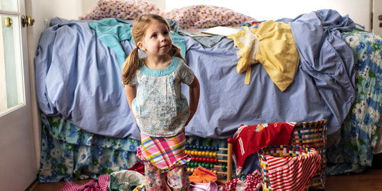 Spark Anxiety: The Life-Changing Magic of Baby Cluttering Up
