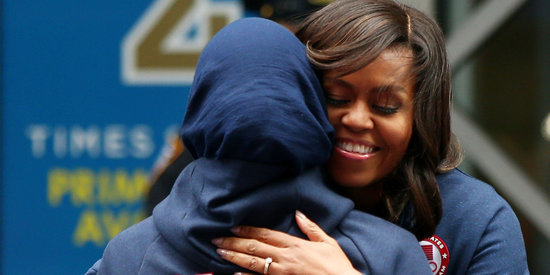 Why It Matters That Michelle Obama And Ibtihaj Muhammad Fenced