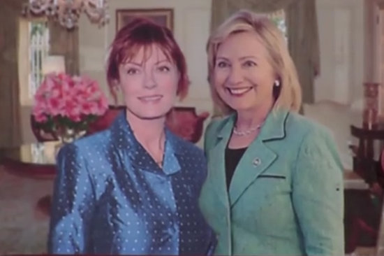 "Susan Sarandon Explains Why She ""Broke Up"" With Hillary Clinton, Is Still Our Dream Mom While Doing So"