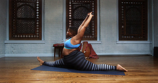 "Jessamyn Stanley Gets Really Real About Yoga Stereotypes and the Word ""Fat"""