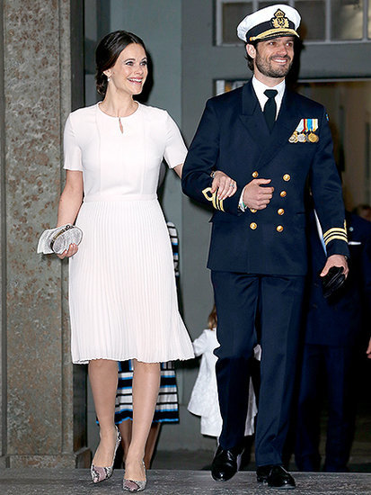 Pretty in Pink! Princess Sofia Steps Out with Prince Carl Philip Less Than 2 Weeks After Giving Birth