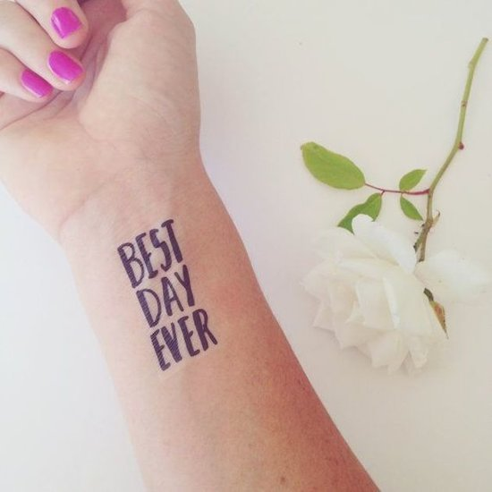 7 Temporary Tattoos That Are Actually Cool