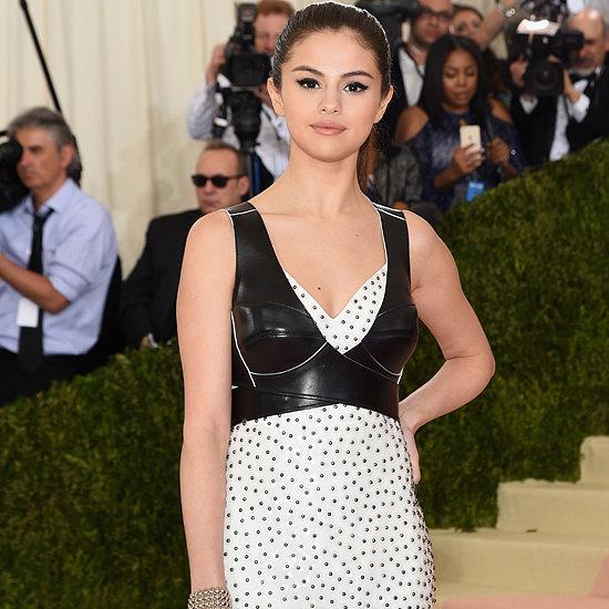 Selena Gomez's Louis Vuitton Dress at Met Gala 2016